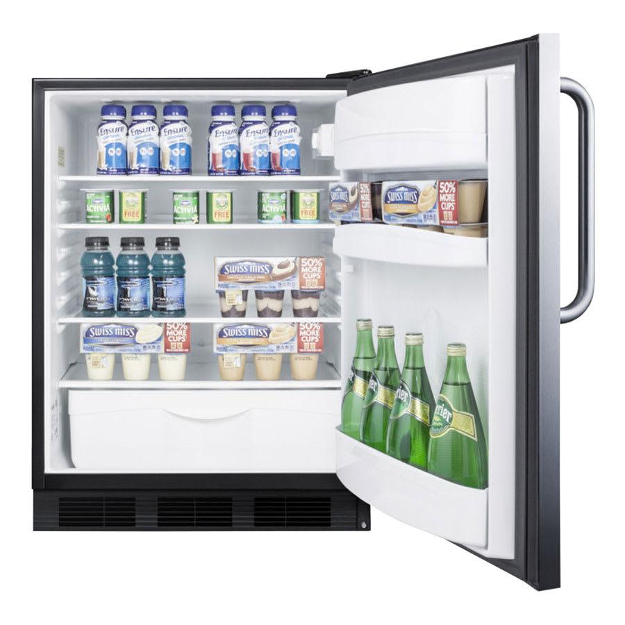 Summit FF6BSSTB Undercounter Medical Refrigerator, 115v