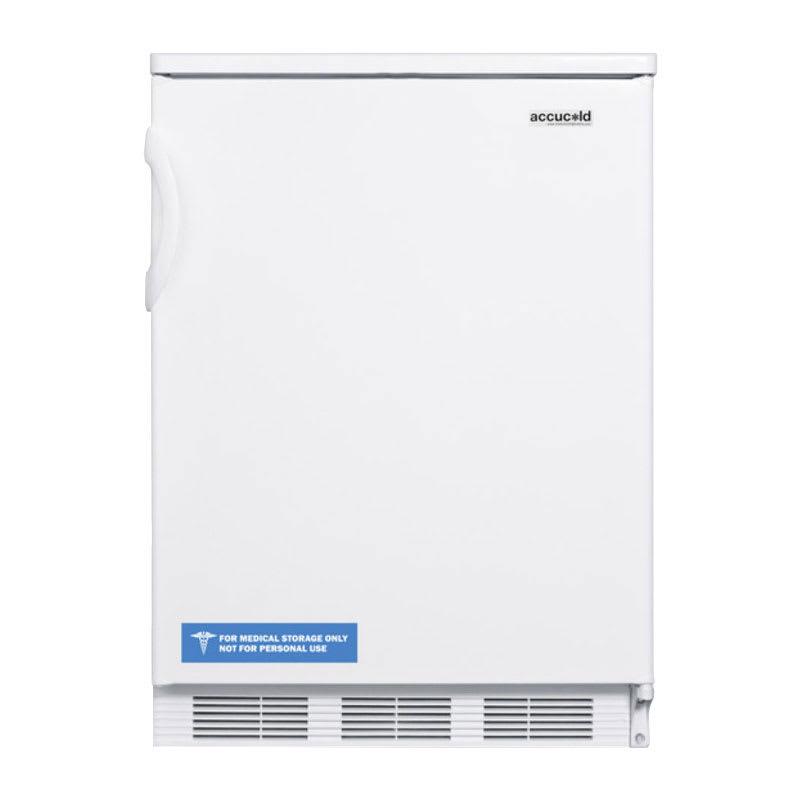 Summit FF7 5.5-cu ft Undercounter Refrigerator w/ (1) Section & (1) Door, 115v