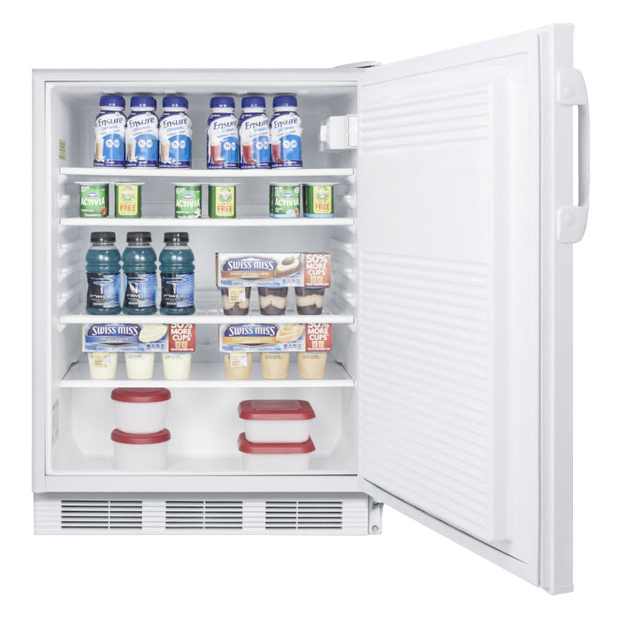 Summit FF7ADA Undercounter Medical Refrigerator - ADA Compliant, 115v