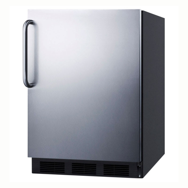 Summit FF7BBISSTBADA 5.5-cu ft Undercounter Refrigerator w/ (1) Section & (1) Door, 115v