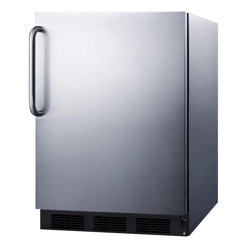 Summit FF7BCSSADA 5.5 cu ft Undercounter Refrigerator w/ (1) Section & (1) Door, 115v