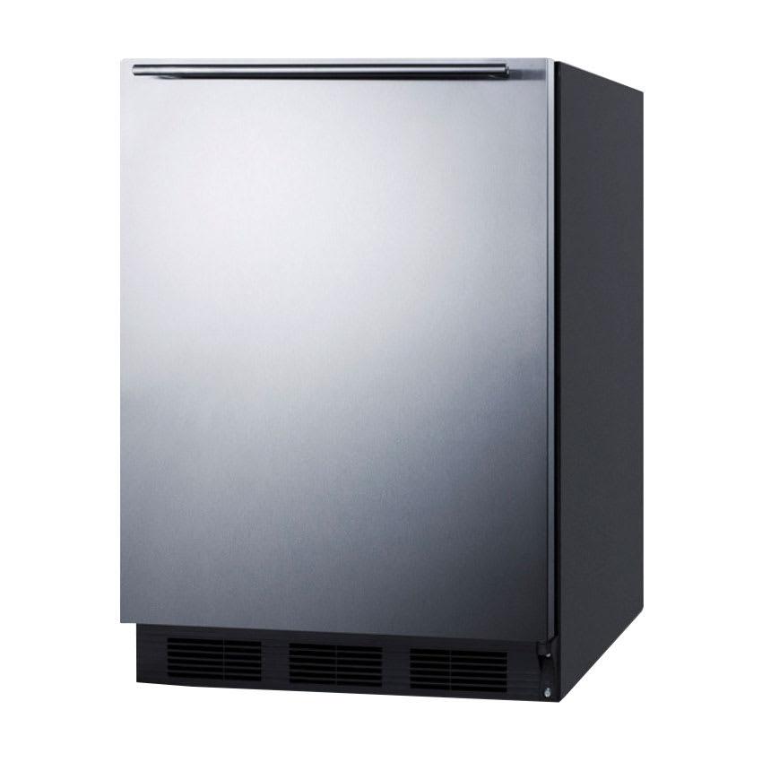 Summit FF7BSSHHADA 5.5-cu ft Undercounter Refrigerator w/ (1) Section & (1) Door, 115v