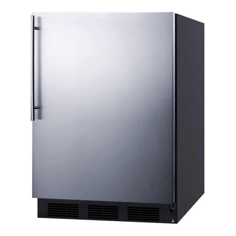 Summit FF7BSSHV 5.5-cu ft Undercounter Refrigerator w/ (1) Section & (1) Door, 115v