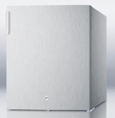 Summit FFAR22LWCSS Compact Medical Refrigerator - Factory Lock, 115v