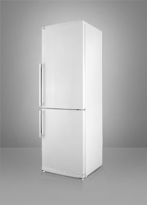Summit FFBF240WIM Counter Depth Refrigerator/Freezer, Ice Maker, 9.85 cu ft, White