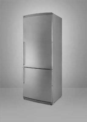 Summit FFBF245SSIM Counter Depth Refrigerator Freezer, Ice Maker, 9.85 cu ft