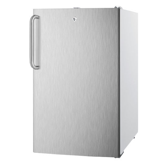 Summit FS407LBISSTB Undercounter Medical Freezer - Locking, 115v