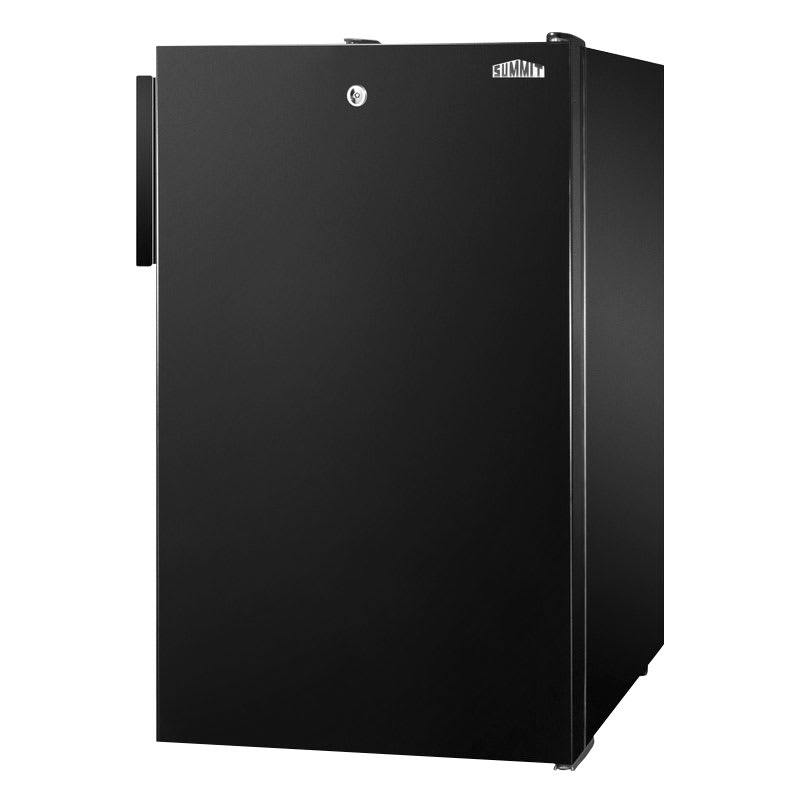 Summit FS408BL7 2.8 cu ft Undercounter Freezer w/ (1) Section & (1) Door, 115v