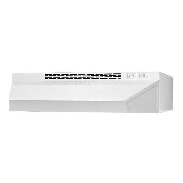"Summit H1620W 20"" Convertible Range Hood, White"