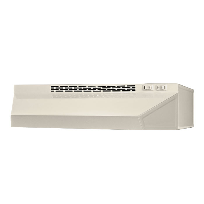 "Summit H1624Q 24"" Convertible Range Hood, Bisque"