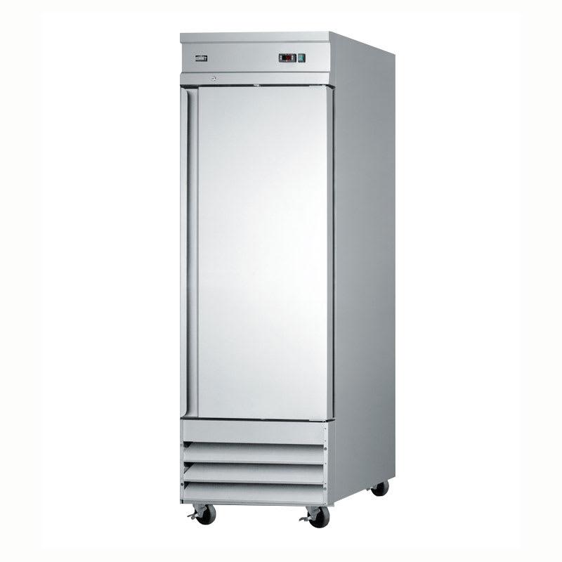 "Summit SCFF235 29"" Single Section Reach-In Freezer, (1) Solid Door, 115v"