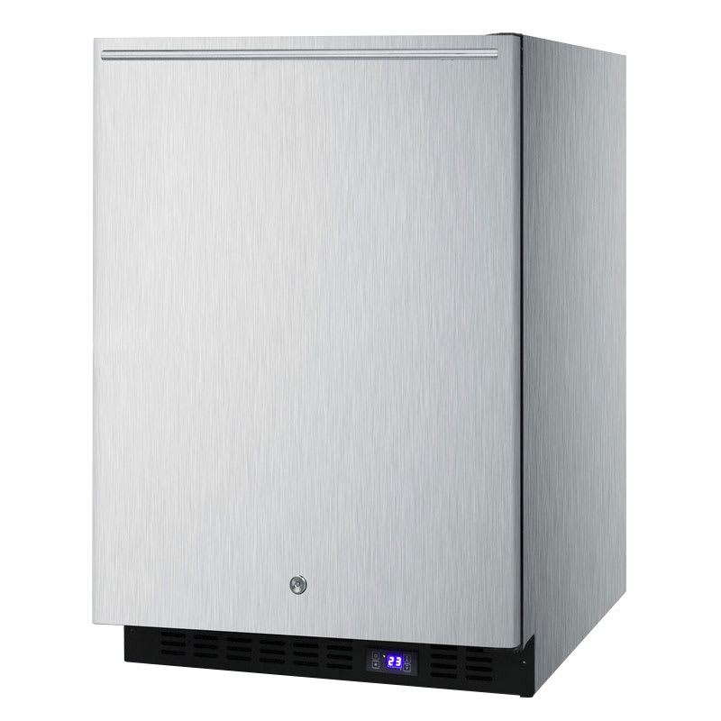 Summit SPFF51OSSSHHIM 4.72 cu ft Undercounter Freezer w/ (1) Section & (1) Door, 115v