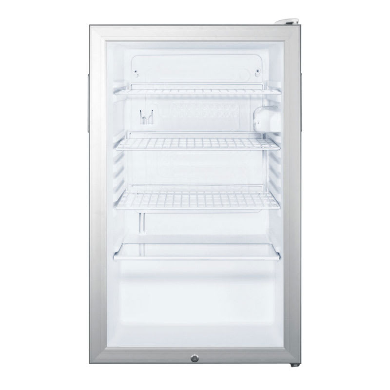 Summit SCR450L7 4.1-cu ft Undercounter Refrigerator w/ (1) Section & (1) Door, 115v