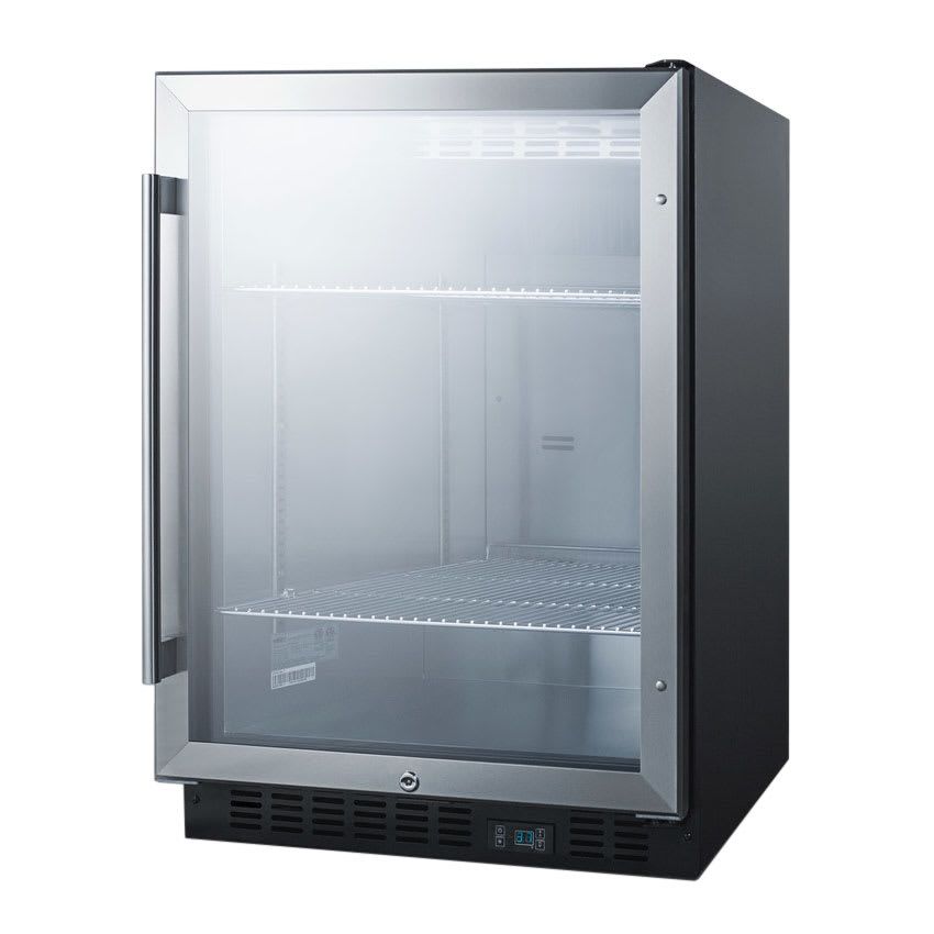 Summit Scr610bl 24 Quot 1 Section Bar Refrigerator