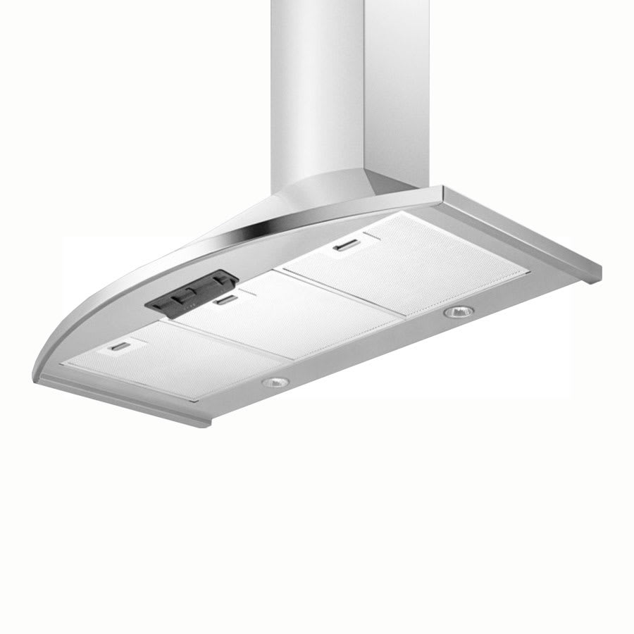 "Summit SEH2624 24"" European 500 CFM Ducted Range Hood w/ 3-Speed Fan, 115v"