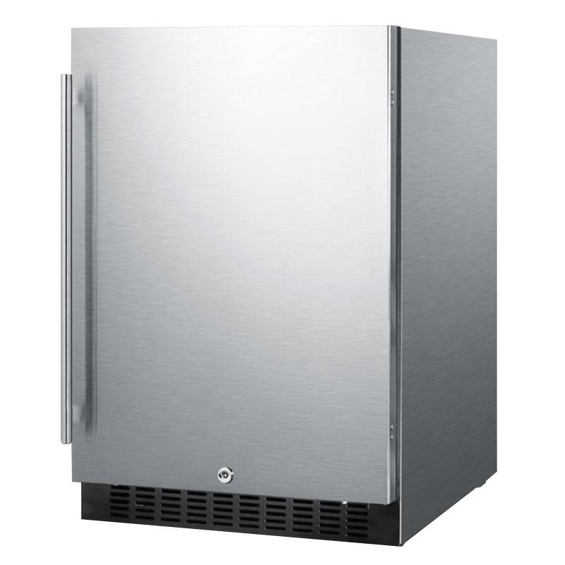 Summit SPR627OS 4.6 cu ft Undercounter Refrigerator w/ (1) Section & (1) Door, 115v