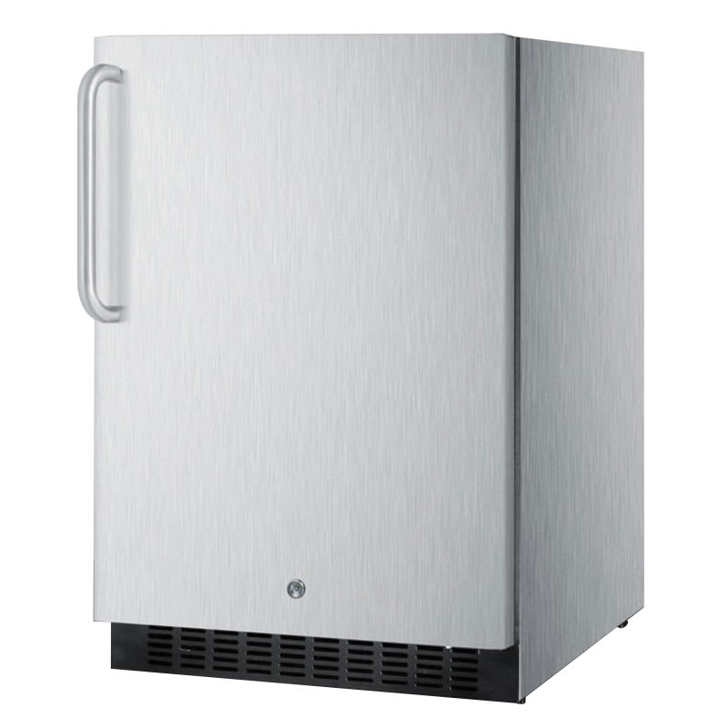 Summit SPR627OSCSSTB 4.6 cu ft Undercounter Refrigerator w/ (1) Section & (1) Door, 115v