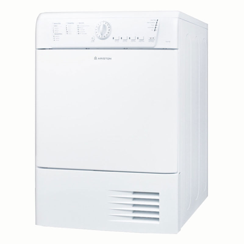Summit TCL73XNAADA Front Loading Dryer w/ 15-lb Capacity, Indicator Lights & 16-Dry Programs, White, ADA