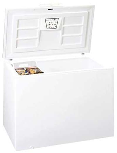 Summit CFC162QW Chest Freezer w/ 1-Section, Storage Basket, White, 15.2-cu ft