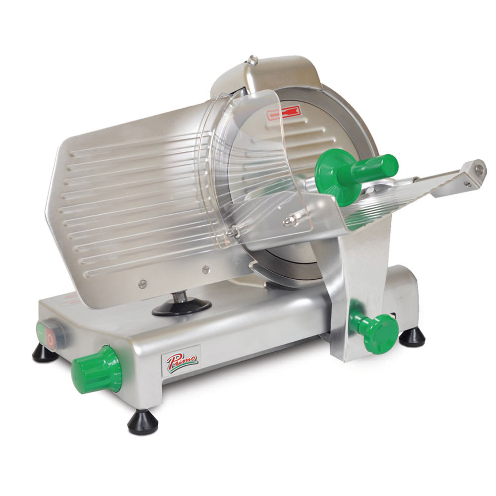 "Primo PS-10 Compact Meat Slicer w/ 10"" Blade & .25 HP Motor, 120 V"