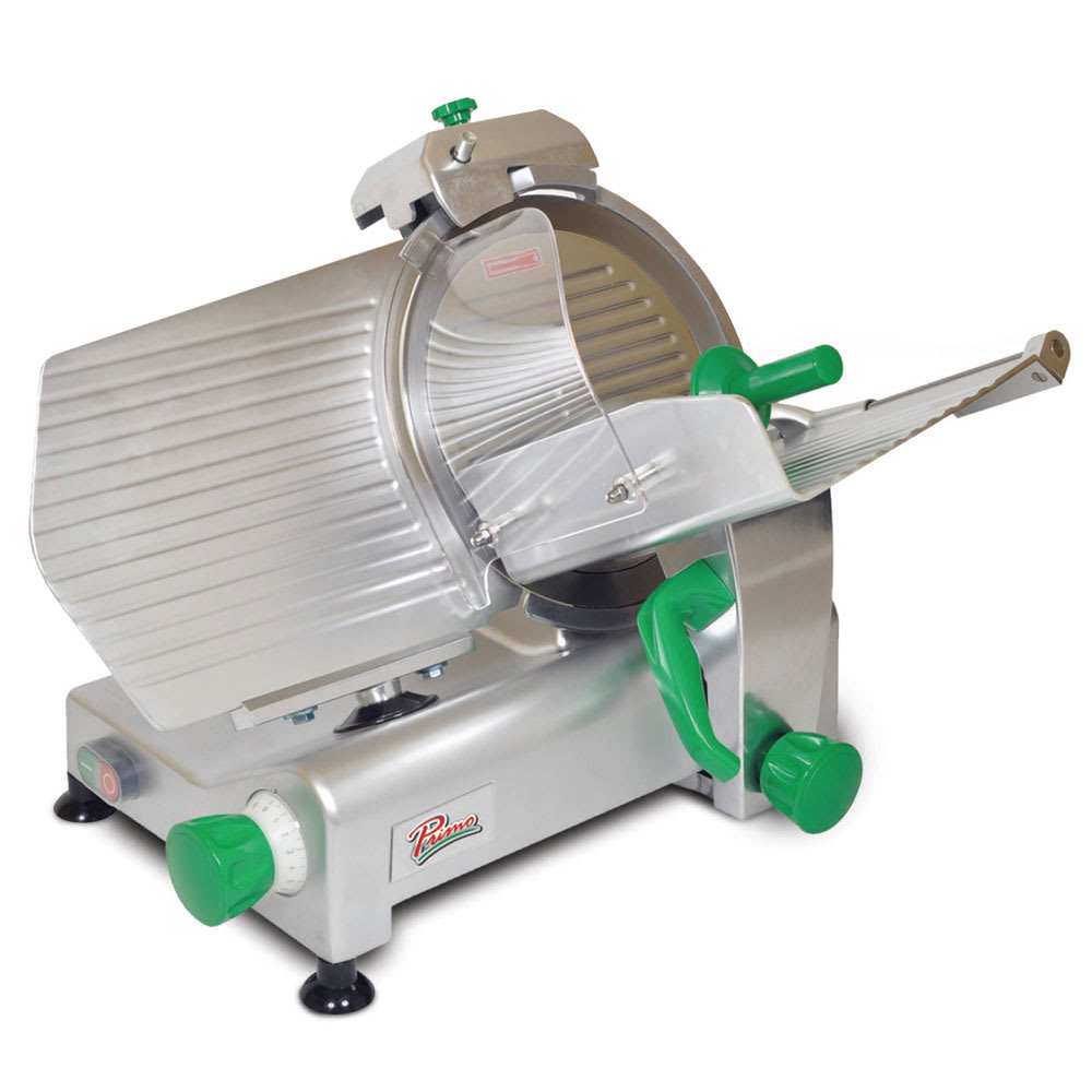 "Primo PS-12 Compact Meat Slicer w/ 12"" Blade & .33 HP Motor, 120 V"