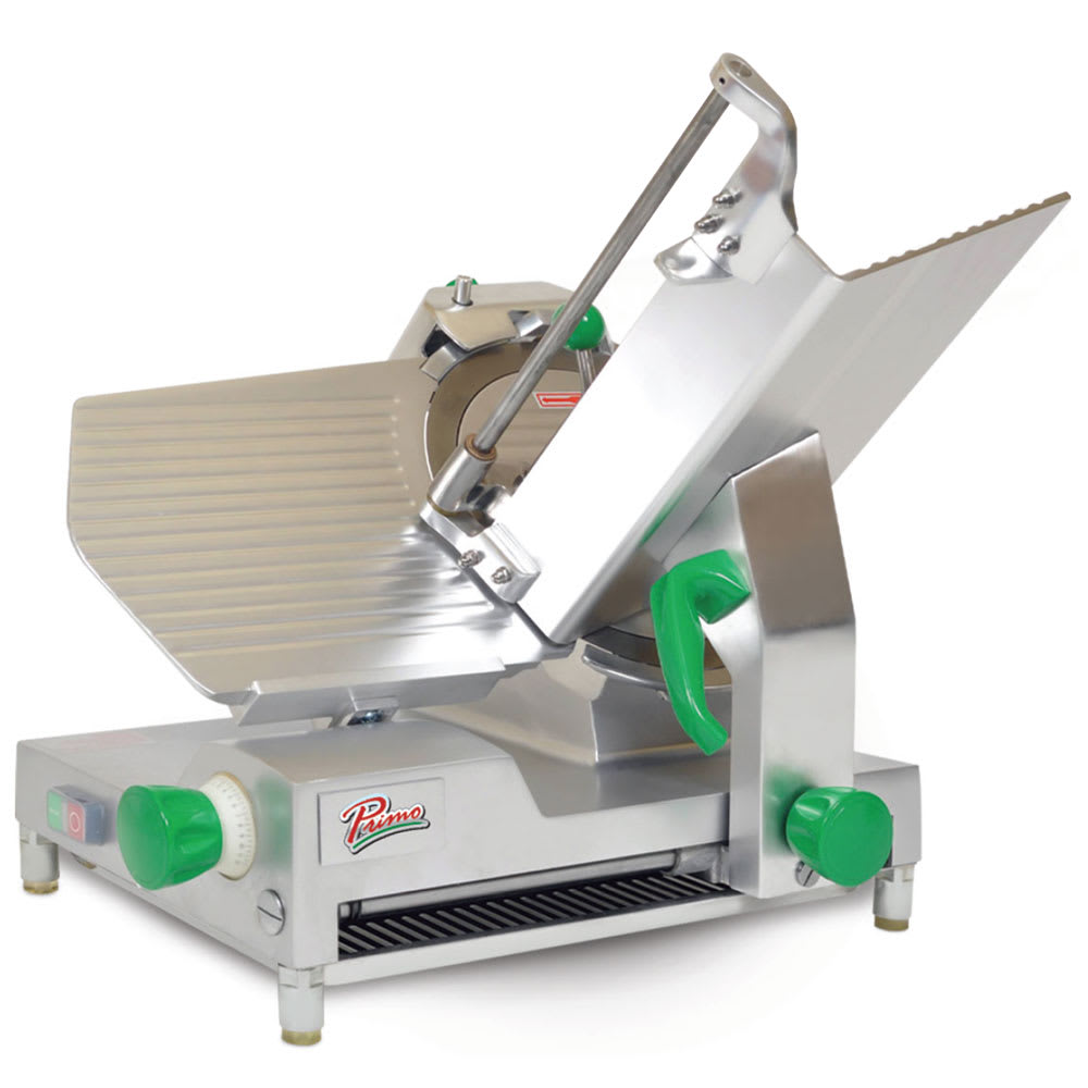 "Primo PS-12D Deluxe Compact Meat Slicer w/ 12"" Blade & .5 HP Motor, 120 V"