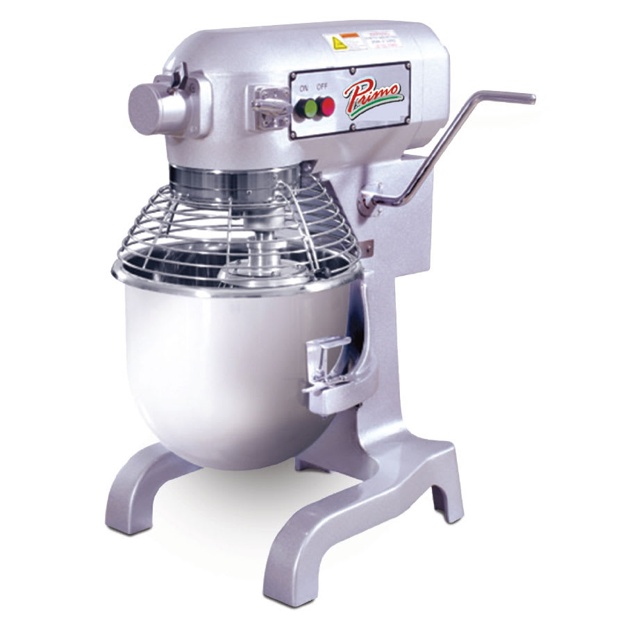 Primo PM20 20-Qt Mixer w/ 3-Speeds & 1-HP Motor, 120 V