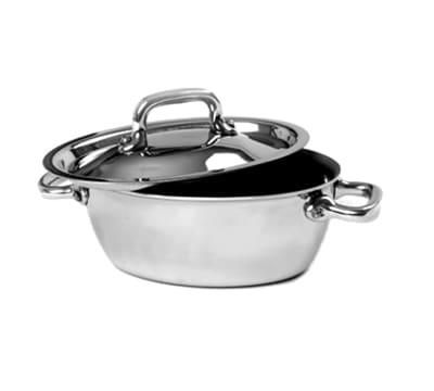 Mauviel 5133.13 .31 qt Stainless Steel Braising Pot