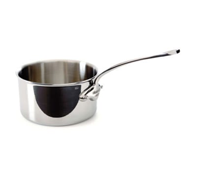 Mauviel 5210.18 2.7 qt Saucepan - Induction Compatible, 18/10 Stainless