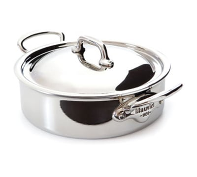 Mauviel 5230.29 5.8-qt Stainless Steel Braising Pot