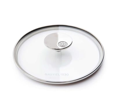 "Mauviel 5318.18 7"" Round M'cook Glass Lid"