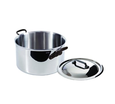 Mauviel 5631.19 7-in Round M'cook Stew Pan w/ 2.7-qt Capacity & Handles, Lid