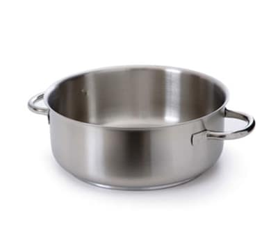 Mauviel 5937.28 7-qt Stainless Steel Braising Pot