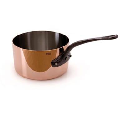 Mauviel 6501.28 9.6-qt Saucepan w/ Cover - Copper