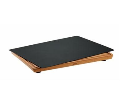 "Rosle 15010 Practical Cutting Board w/ Non Slip Rubber Feet, Layers Beech Wood, 13.8x17.7"""