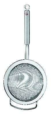 "Rosle 95274 9.4"" Round Kitchen Strainer - 2.11-qt Capacity, Course Mesh"