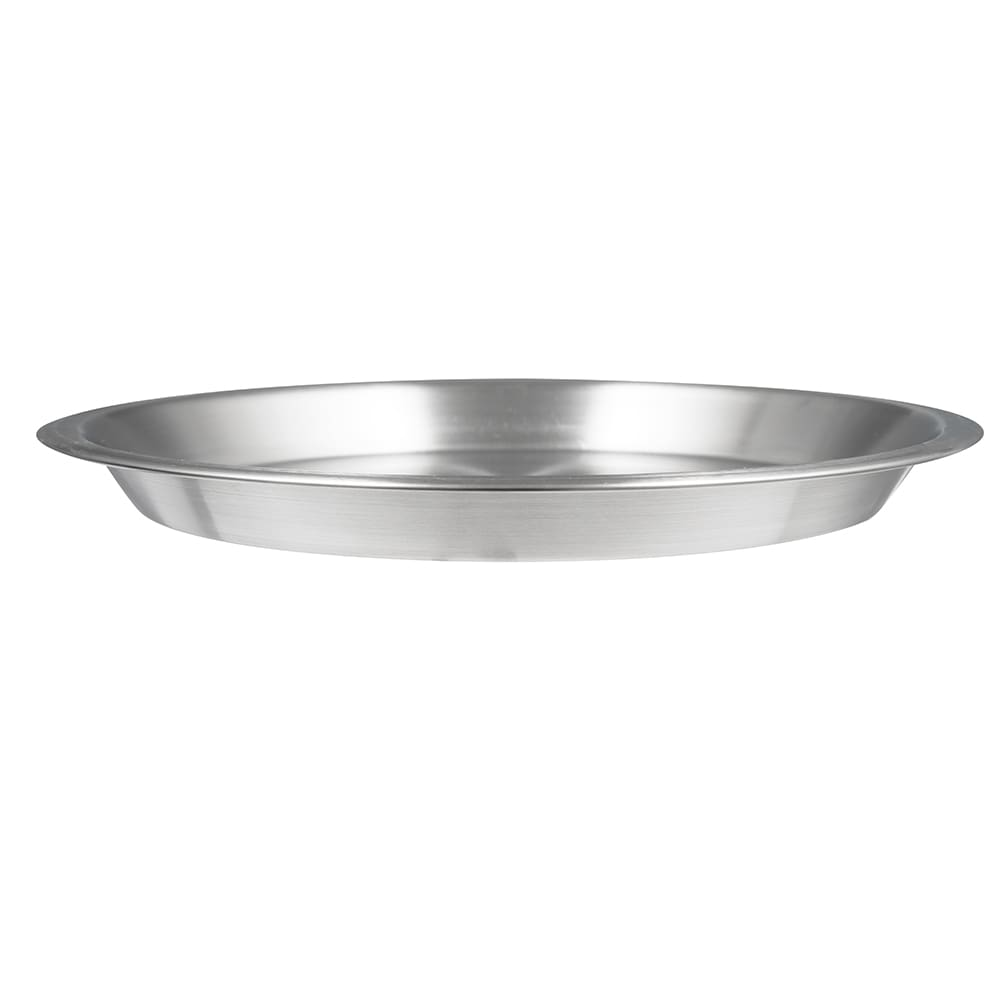 "American Metalcraft 1187SS 10-1/8"" Pie Pan - 18/8-ga Stainless"