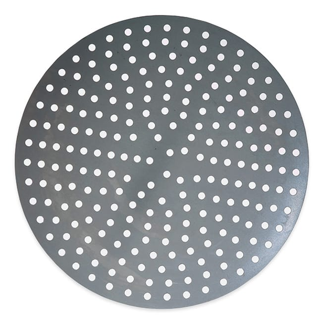 "American Metalcraft 18911P 11"" Perforated Pizza Disk, Aluminum"