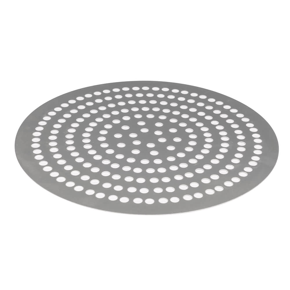 "American Metalcraft 18912SP 12"" Super Perforated Pizza Disk, Aluminum"
