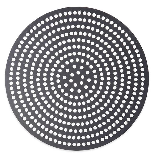 """American Metalcraft 18913SPHC 13"""" Super Perforated Pizza Disk, Hardcoat, Aluminum"""