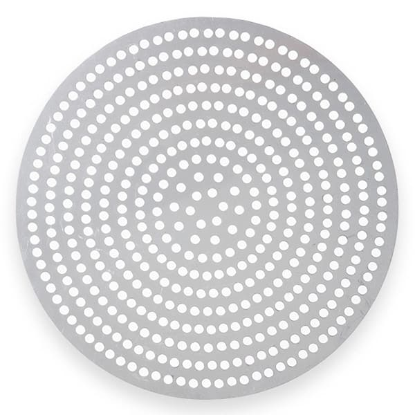 "American Metalcraft 18914SP 14"" Super Perforated Pizza Disk, Aluminum"
