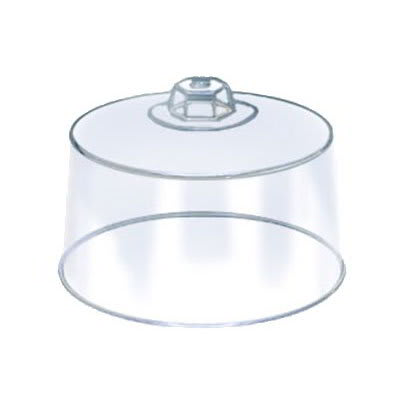 """American Metalcraft 19004 12"""" Round Cake Cover, Plastic, Clear"""