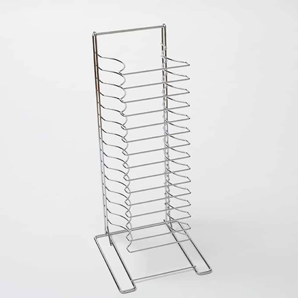 American Metalcraft 19029 Pizza Pan Rack w/ 15 Shelf Capacity, Chrome/Steel
