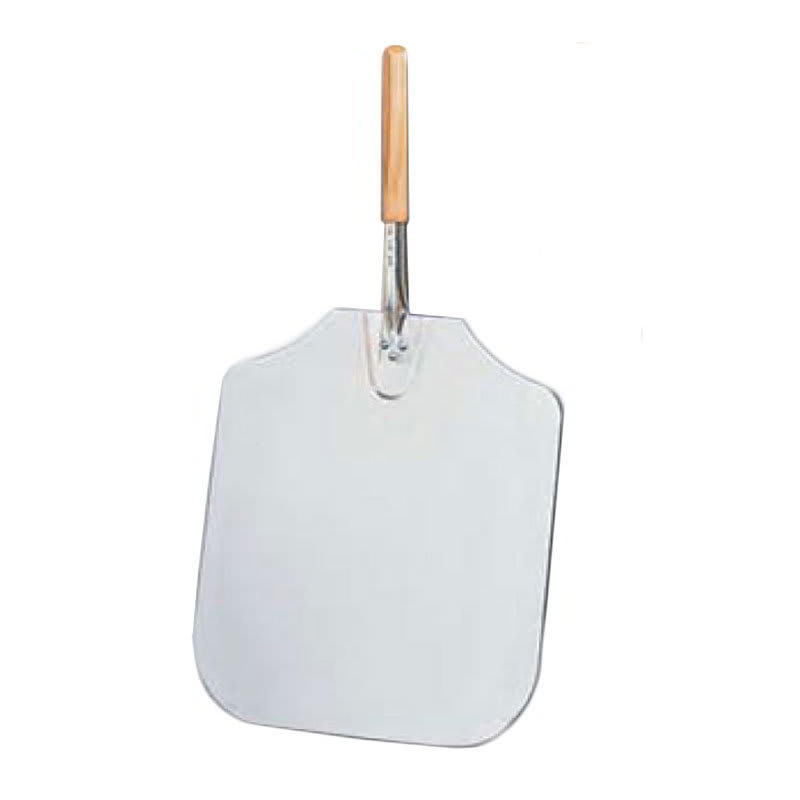 "American Metalcraft 3016 30"" Pizza Peel, 16x18"", Aluminum/Wood"