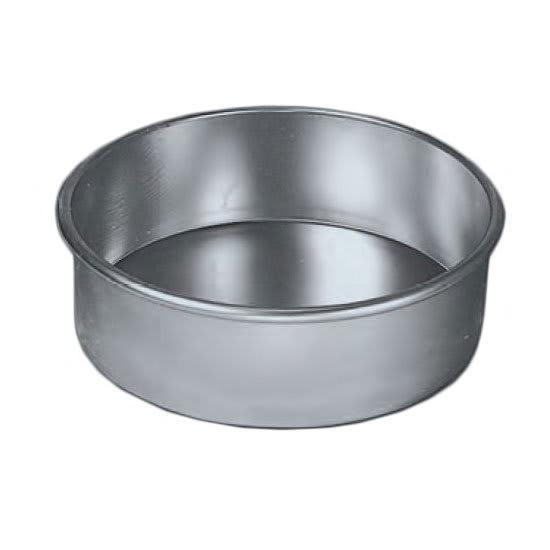 "American Metalcraft 3809 9"" Round Cake Pan, Aluminum"