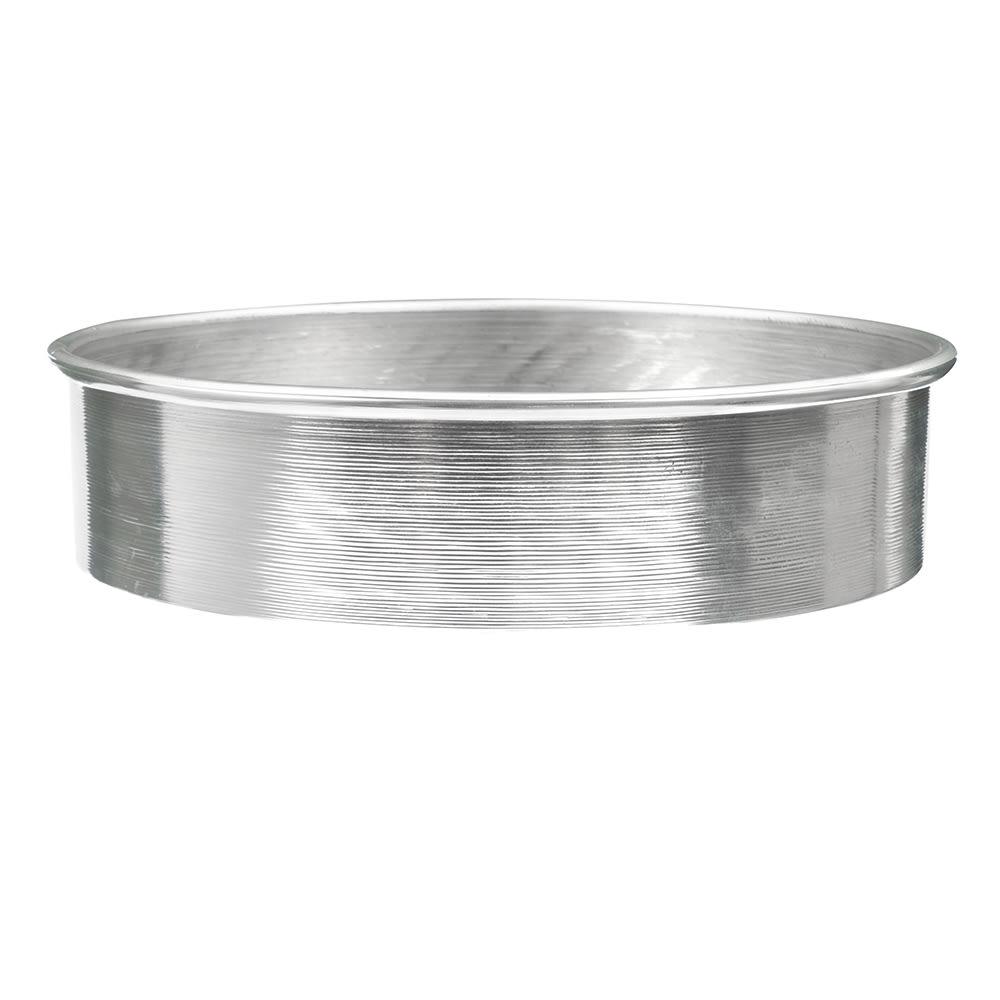 "American Metalcraft 3812 12"" Round Cake Pan, Aluminum"