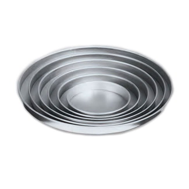 """American Metalcraft A4009 9"""" Straight Sided Pizza Pan, 1"""" Deep, Solid, Aluminum"""