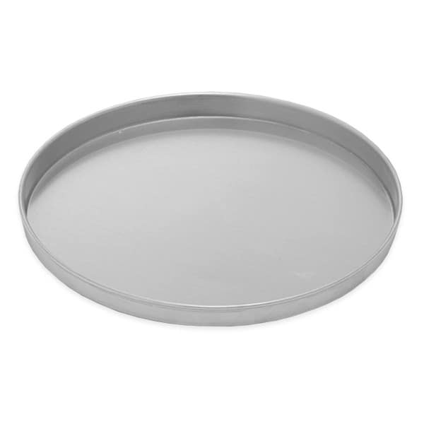 "American Metalcraft A4016 16"" Straight Sided Pizza Pan, 1"" Deep, Solid, Aluminum"