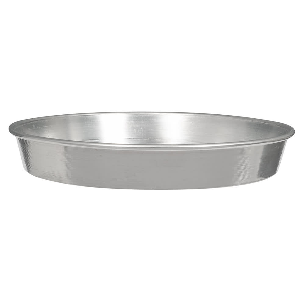 "American Metalcraft A90101.5 10"" Tapered Pizza Pan, 1.5"" Deep, Solid, Aluminum"