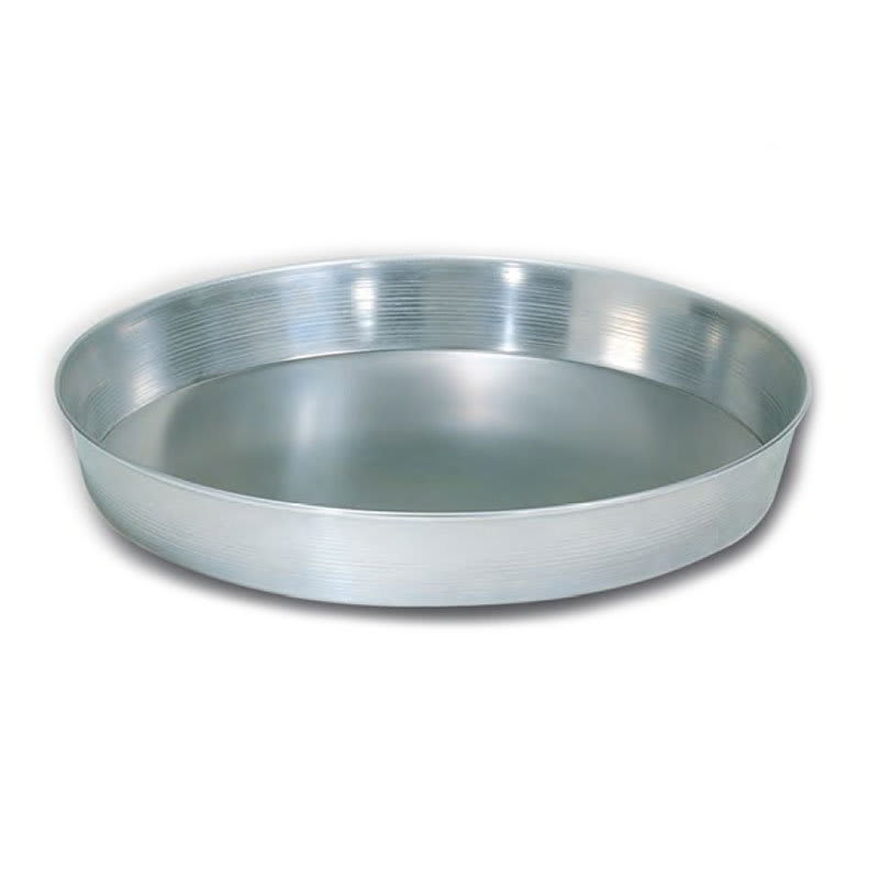 """American Metalcraft A90121.5 12"""" Tapered Pizza Pan, 1.5"""" Deep, Solid, Aluminum"""